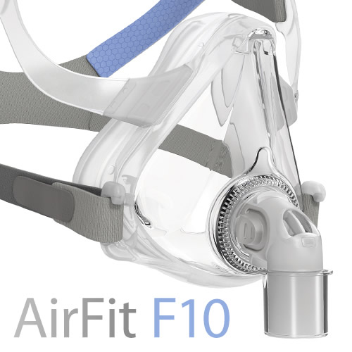 Res Med Airfit F10 Full Face Cpap Mask Home Lifecare