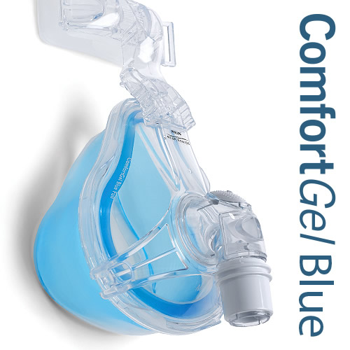 Respironics Comfort Gel Blue Full Face Cpap Mask Home