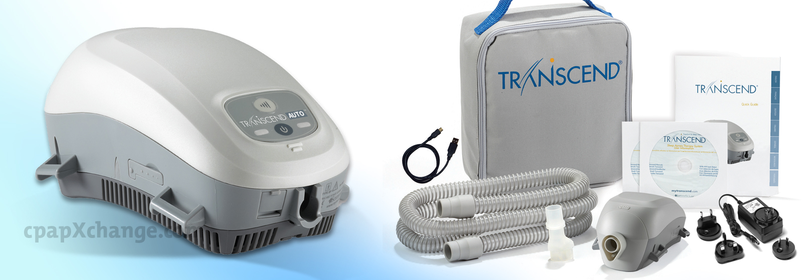 transcend ii travel cpap machine humidifier
