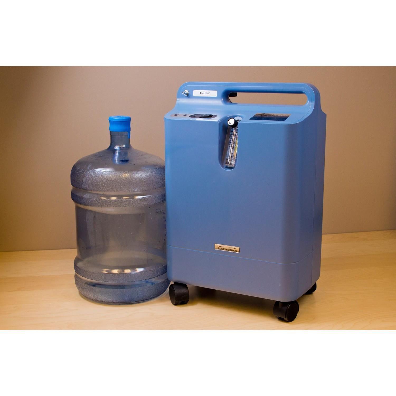 oxygen concentrator hook up